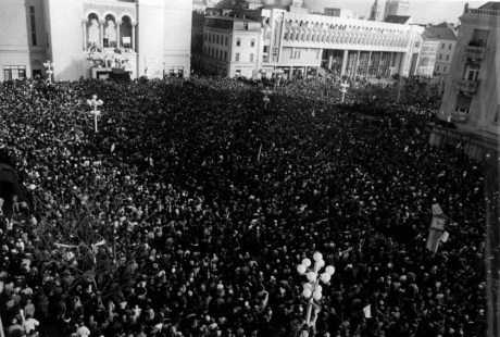 20 Decembrie 1989, Piata Operei Timisoara - 2
