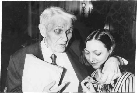Roxana Iordache si Corneliu Coposu